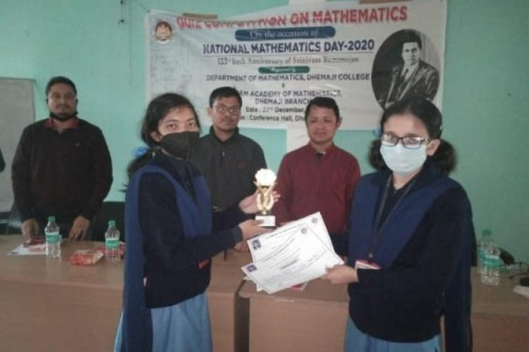Maths Quiz competition - VKV Dhemaji