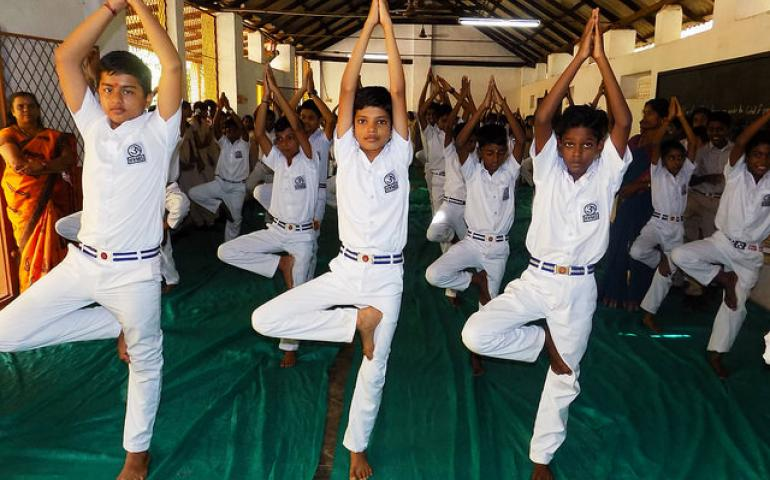 INTERNATIONAL YOGA DAY NAGERCOIL