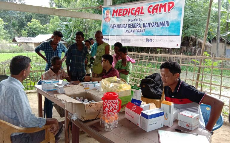 Medical Camp at Moran