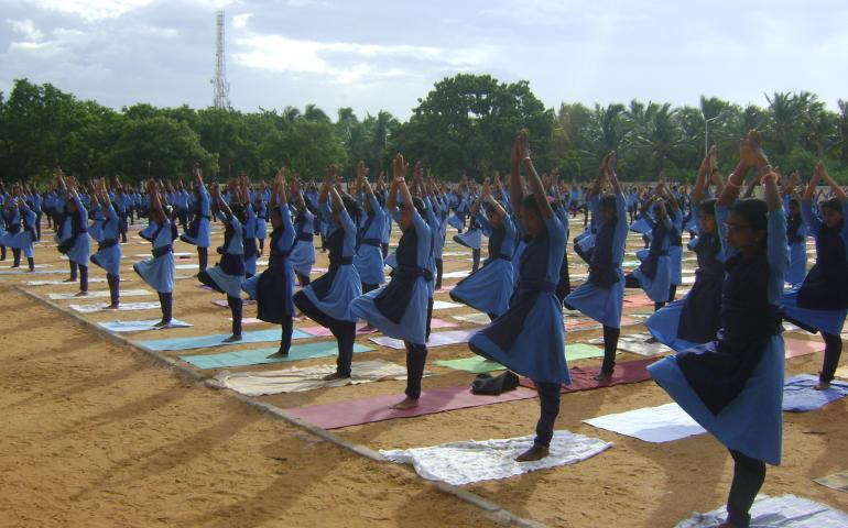 International Day Of Yoga 2019 Celebrated at Karnataka, Tamilnadu and Kerala