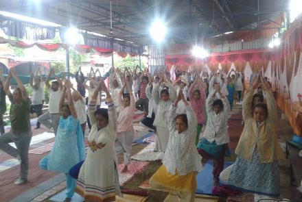INTERNATIONAL YOGA DAY VK INDORE