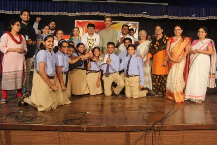 30th Inter-school Patriotic Song Competition Chinchwad