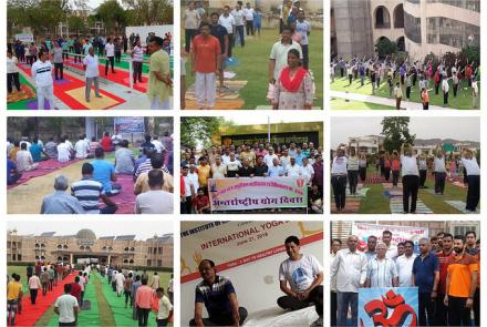 INTERNATIONAL YOGA DAY AJMER