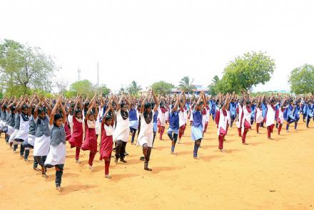 INTERNATIONAL YOGA DAY CELEBRATION VALLIOOR