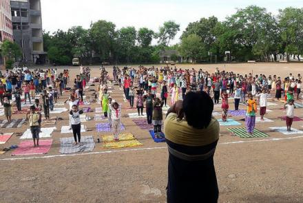 CELEBRATION OF INTERNATIONAL DAY OF YOGA BY VK BRANCH CENTERS