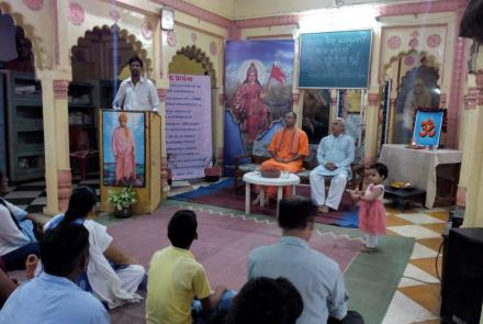 Gurupoornima Celebration at Gwalior