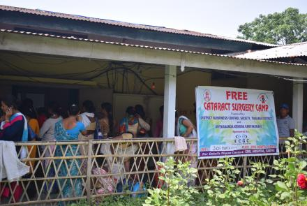 Free Cataract Surgery Camp at Sadiya