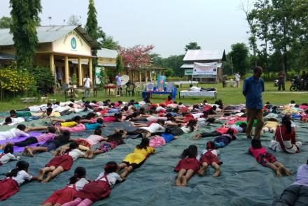 International Day Of Yoga 2019 celebrated at Assam