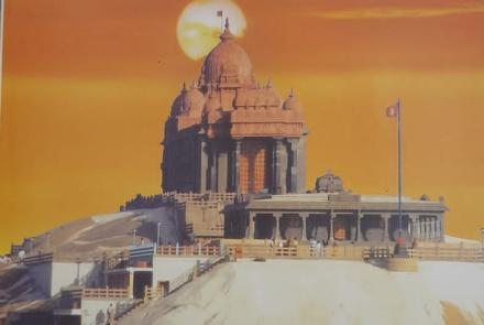 "The story of Vivekanana Rock Memorial- As told by Shri. Eknath Ranade "" Malayalam version written by P. Narayanan Ji"